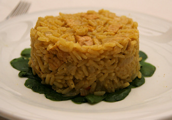 Curried Rice with Tempeh
